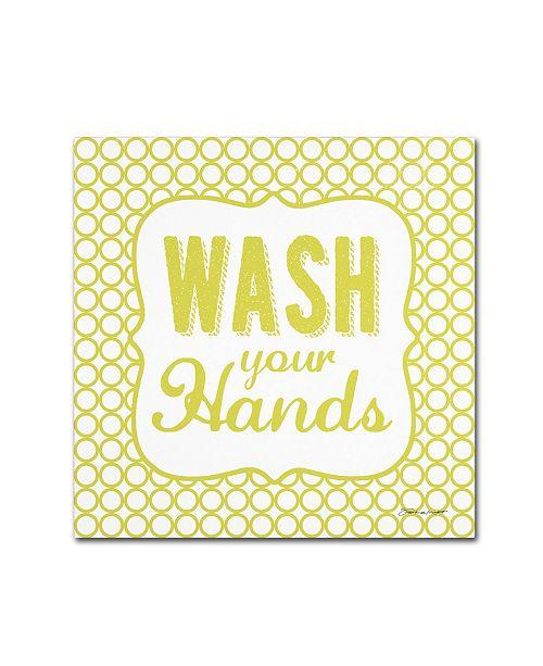 "Trademark Global Stephanie Marrott 'Wash' Canvas Art - 35"" x 35"""
