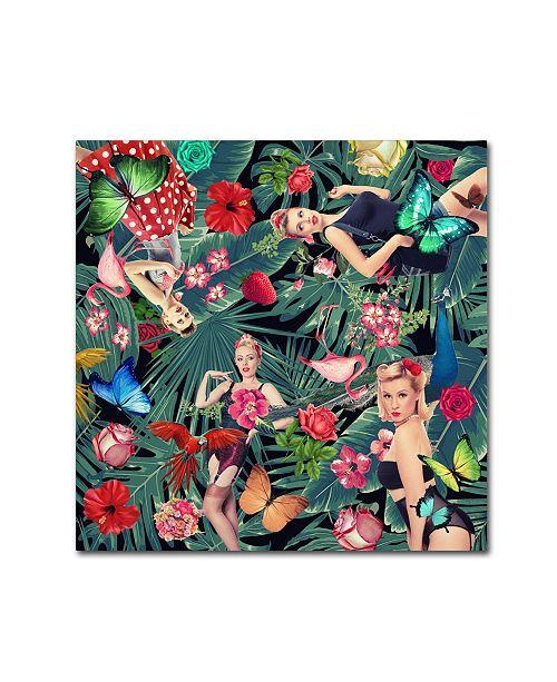 "Trademark Global Mark Ashkenazi 'Tropic Fun Sexy' Canvas Art - 35"" x 35"""