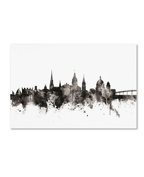 "Trademark Global Michael Tompsett 'Annapolis Maryland Skyline III' Canvas Art - 30"" x 47"""