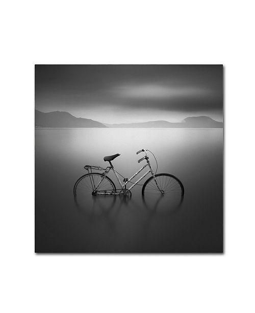 "Trademark Global Moises Levy 'BICYCLE 1b' Canvas Art - 35"" x 35"""
