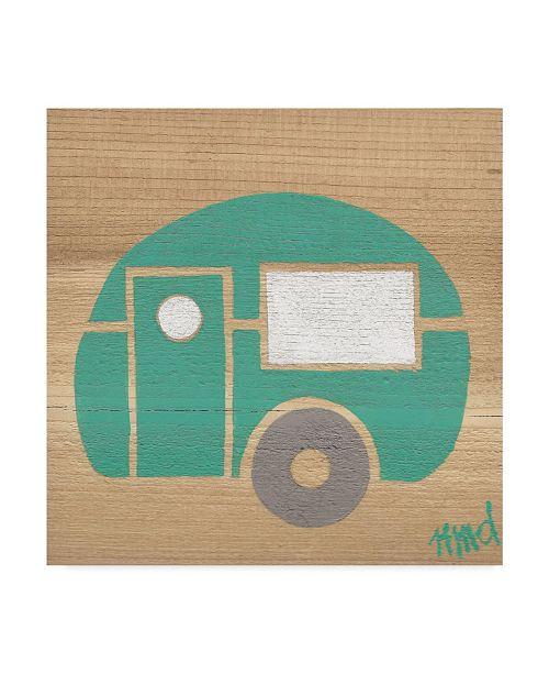 "Trademark Global Nicole Dietz 'Turquoise Camp' Canvas Art - 24"" x 24"""