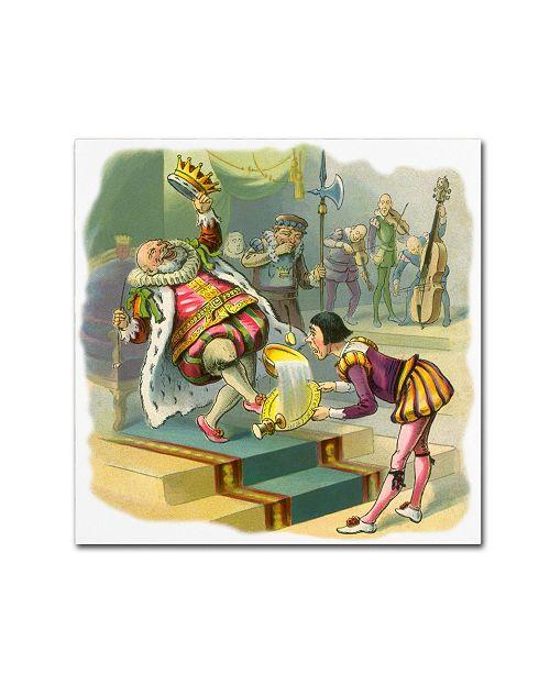 "Trademark Global Vintage Apple Collection 'CA Fairy 60' Canvas Art - 35"" x 35"""