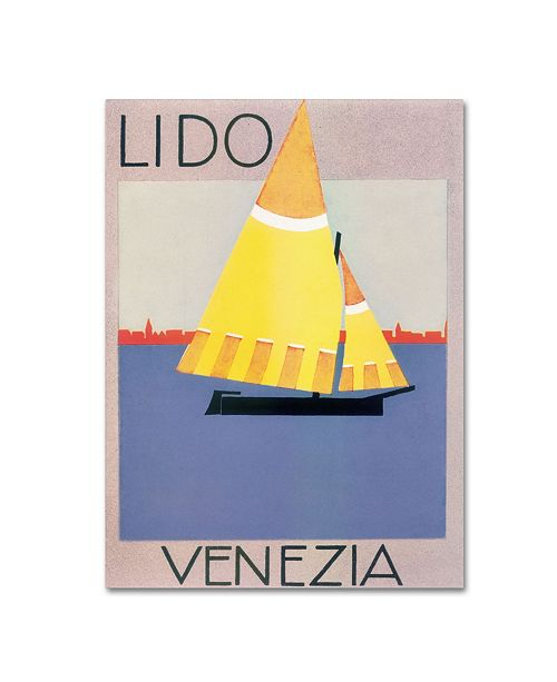 """Trademark Global Vintage Apple Collection 'Italy 1012' Canvas Art - 35"""" x 47"""""""