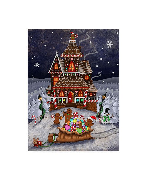 "Trademark Global Jake Hose 'The Ginger Builders' Canvas Art - 24"" x 32"""