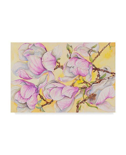"Trademark Global Joanne Porter 'Tulip Tree' Canvas Art - 22"" x 32"""