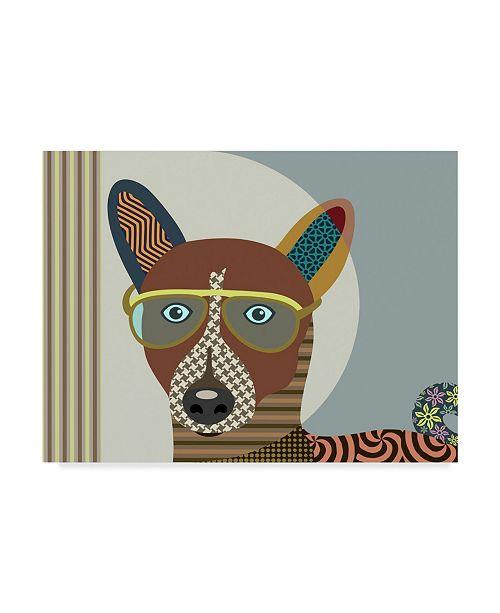 "Trademark Global Lanre Adefioye 'Basenji Dog' Canvas Art - 24"" x 32"""