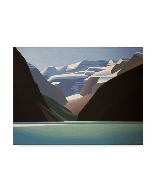 "Trademark Global Ron Parker 'Lake Louise' Canvas Art - 35"" x 47"""