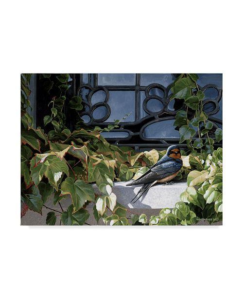 "Trademark Global Ron Parker 'The Window Ledge' Canvas Art - 35"" x 47"""