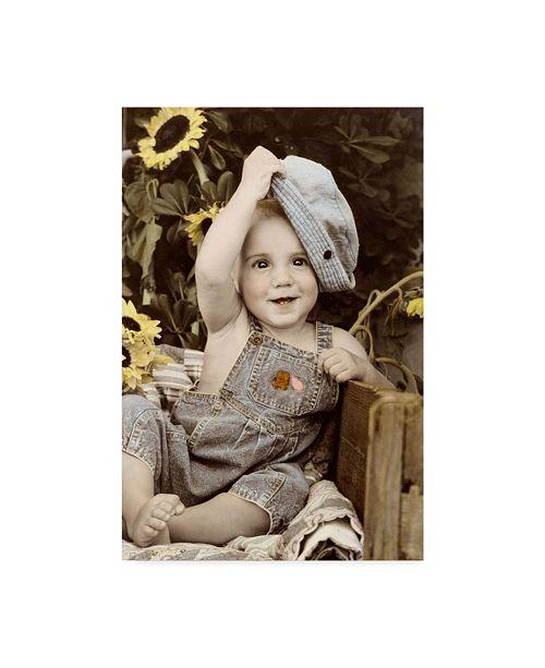 "Trademark Global Sharon Forbes 'Hats Off' Canvas Art - 30"" x 47"""