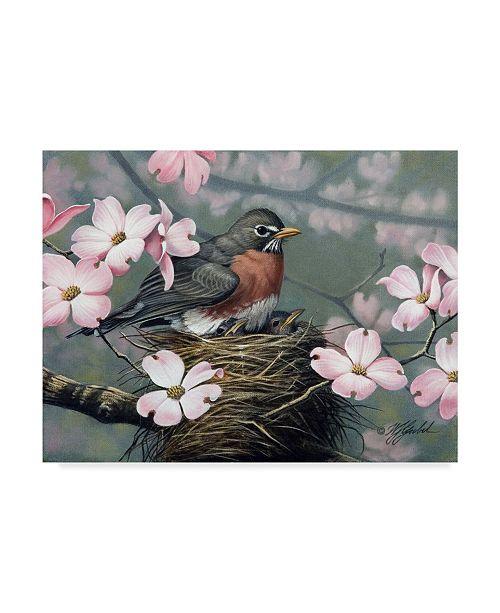 "Trademark Global Wilhelm Goebel 'Mothers Day' Canvas Art - 24"" x 32"""