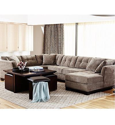 Macys Sectional Sofa Rylee Fabric 2 Piece Sectional Sofa