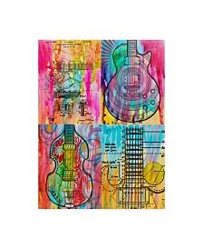 "Dean Russo 'Four Guitars' Canvas Art - 24"" x 32"""