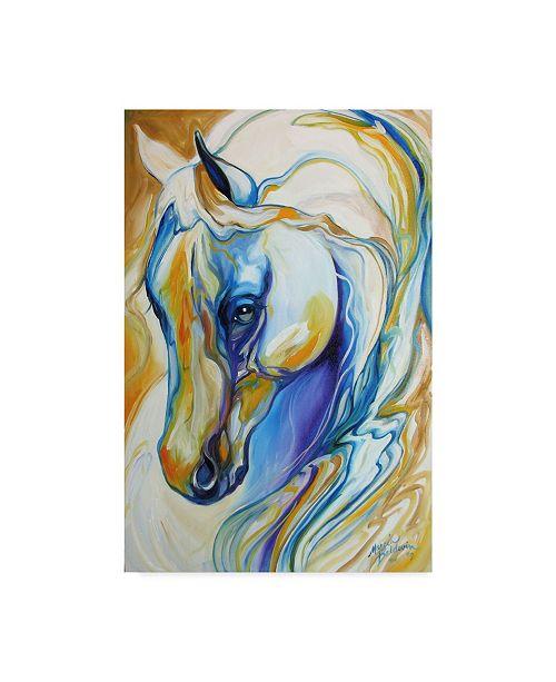 """Trademark Global Marcia Baldwin 'Arabian Abstract' Canvas Art - 30"""" x 47"""""""