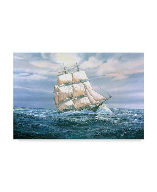 "Trademark Global Jack Wemp 'Hunter Heading Out' Canvas Art - 47"" x 30"""