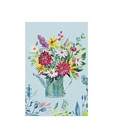 "Irina Trzaskos Studio 'Garden Flag 4' Canvas Art - 30"" x 47"""