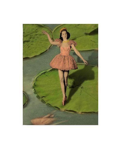 "Trademark Global J Hovenstine Studios 'Ballerina' Canvas Art - 35"" x 47"""