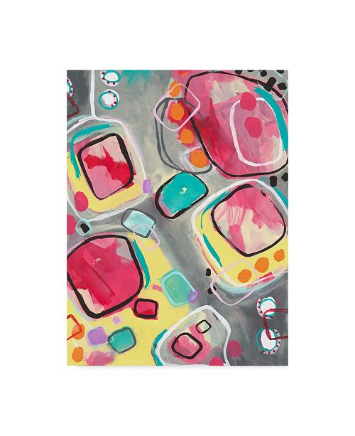 """Trademark Global Jennifer Mccully 'Just Roll With It' Canvas Art - 35"""" x 47"""""""