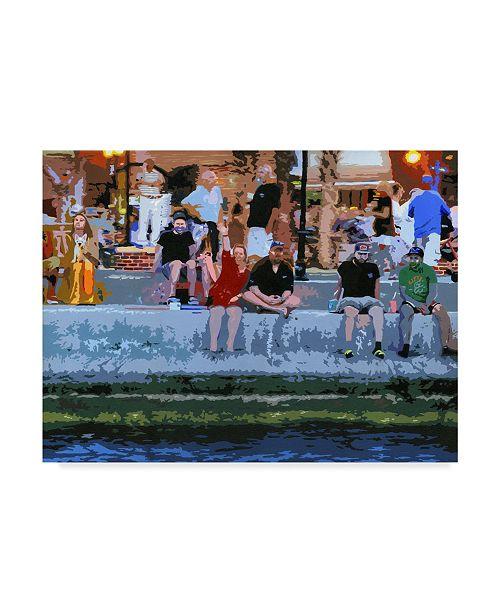 "Trademark Global J Arthur 'As The World Turns' Canvas Art - 32"" x 24"""