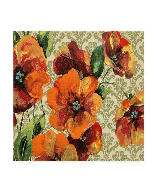 "Trademark Global Jean Plout 'Vintage Tapestry' Canvas Art - 35"" x 35"""