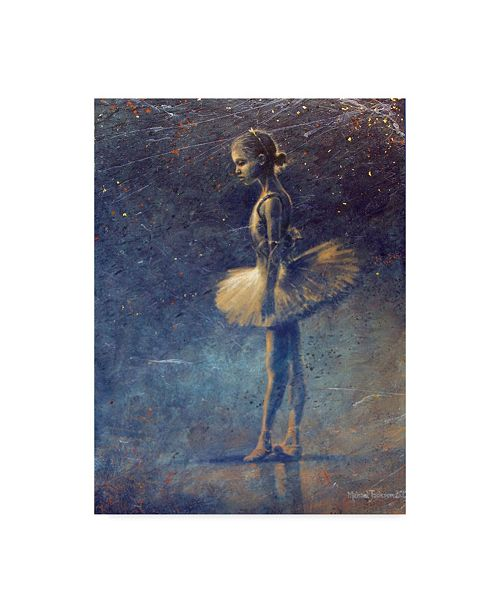 "Trademark Global Michael Jackson 'First Steps Tutu' Canvas Art - 35"" x 47"""