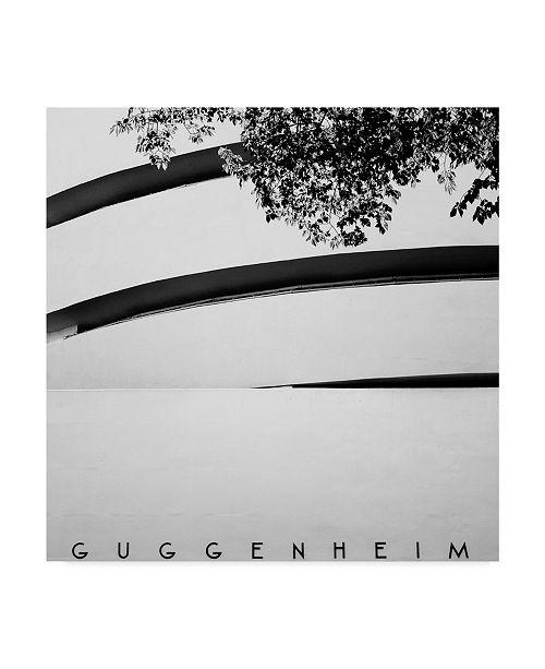 "Trademark Global Nina Papiorek 'NYC Guggenheim' Canvas Art - 24"" x 24"""