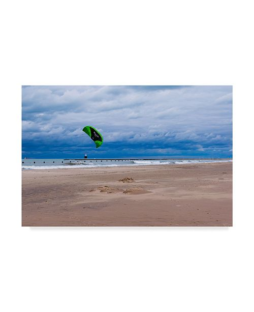 "Trademark Global Njr Photos 'The Kite' Canvas Art - 32"" x 22"""