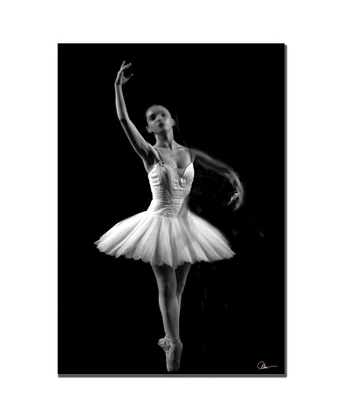 "Trademark Global Martha Guerra 'Ballerina III' Canvas Art - 32"" x 22"""
