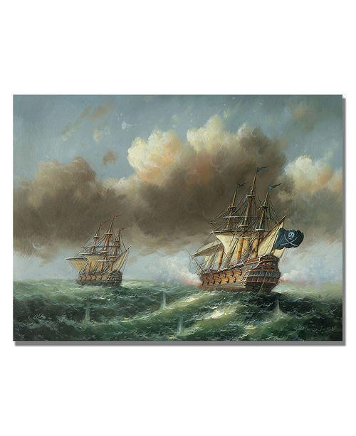 "Trademark Global Rio 'The Revenge' Canvas Art - 47"" x 35"""