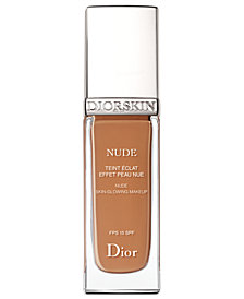 Dior Diorskin Nude Skin-Glowing Foundation Broad Spectrum SPF 15