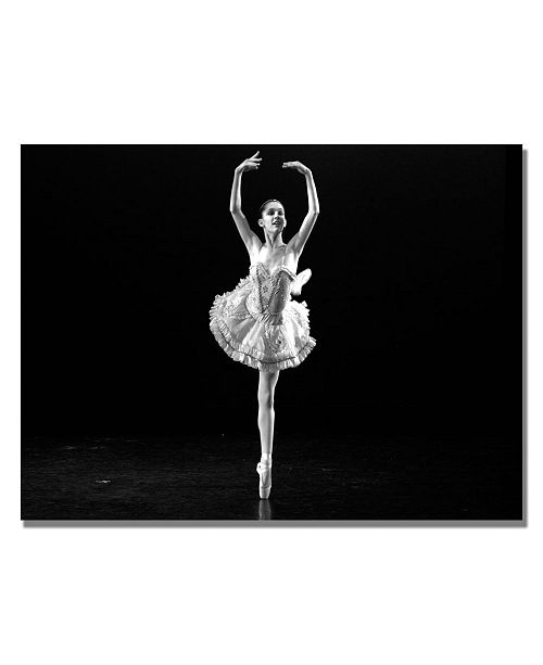 "Trademark Global Martha Guerra 'Ballerina I' Canvas Art - 47"" x 30"""