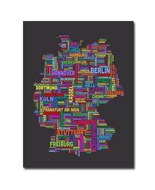 "Trademark Global Michael Tompsett 'Germany' Canvas Art - 47"" x 35"""
