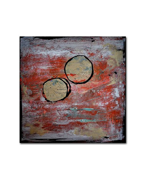 "Trademark Global Nicole Dietz 'The Host' Canvas Art - 35"" x 35"""