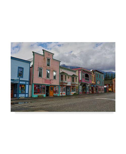 """Trademark Global Mitch Catanzaro 'Skagway' Canvas Art - 12"""" x 19"""""""