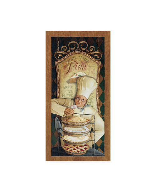 "Trademark Global Lisa Audit 'Chef 2' Canvas Art - 10"" x 19"""