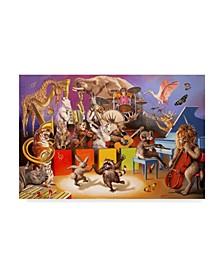 "D. Rusty Rust 'Wild Life' Canvas Art - 12"" x 19"""