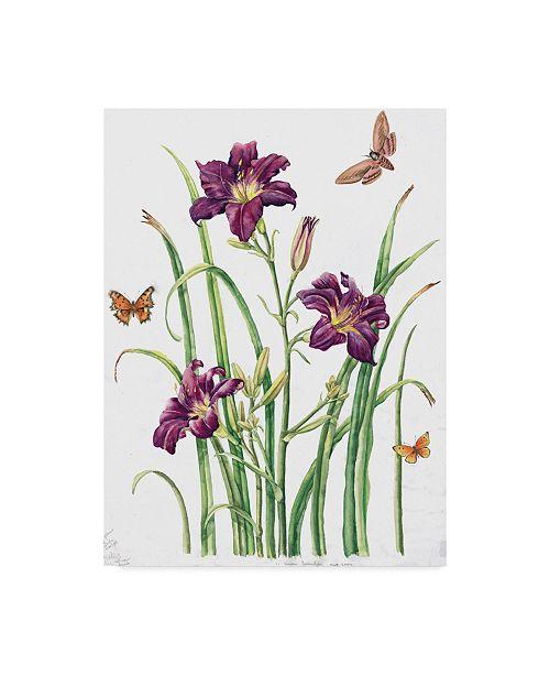 "Trademark Global Janneke Brinkman-Salentijn 'August Bouquet' Canvas Art - 14"" x 19"""