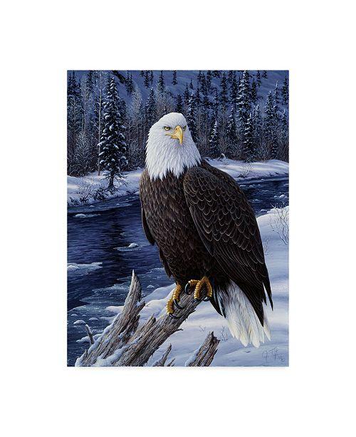 "Trademark Global Jeff Tift 'River Watch' Canvas Art - 14"" x 19"""