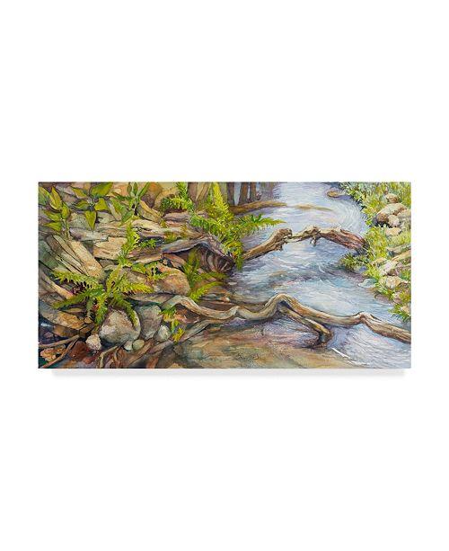 "Trademark Global Joanne Porter 'River Journey' Canvas Art - 10"" x 19"""
