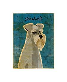 "John W. Golden 'Schnauzer' Canvas Art - 14"" x 19"""