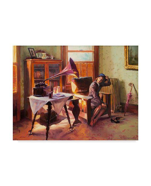 """Trademark Global Steve Henderson 'Ending The Day' Canvas Art - 14"""" x 19"""""""