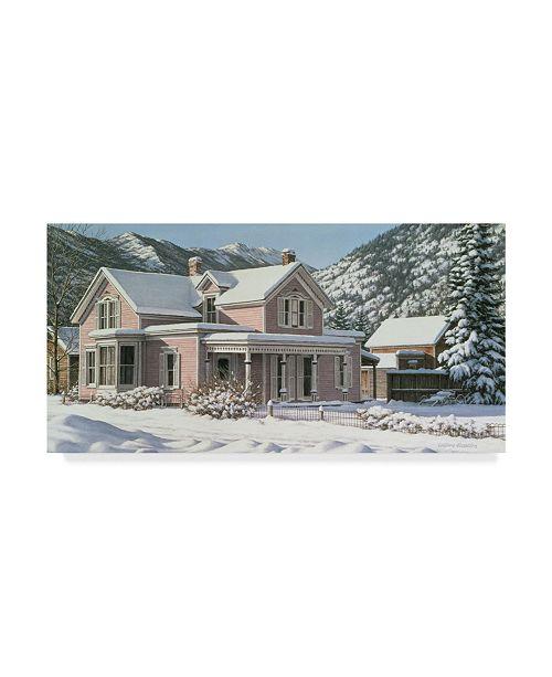 "Trademark Global William Breedon 'Crystal Calm' Canvas Art - 12"" x 24"""