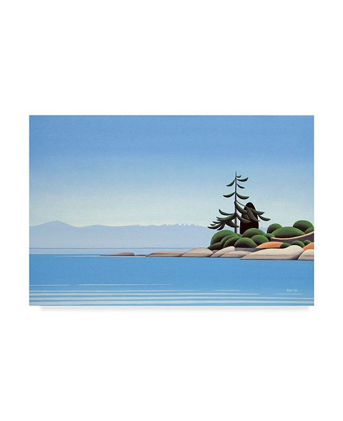 """Trademark Global Ron Parker 'Gonzales Afternoon' Canvas Art - 12"""" x 19"""""""