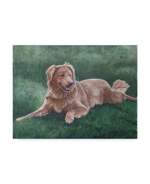 "Trademark Global Rusty Frentner 'Hope' Canvas Art - 14"" x 19"""