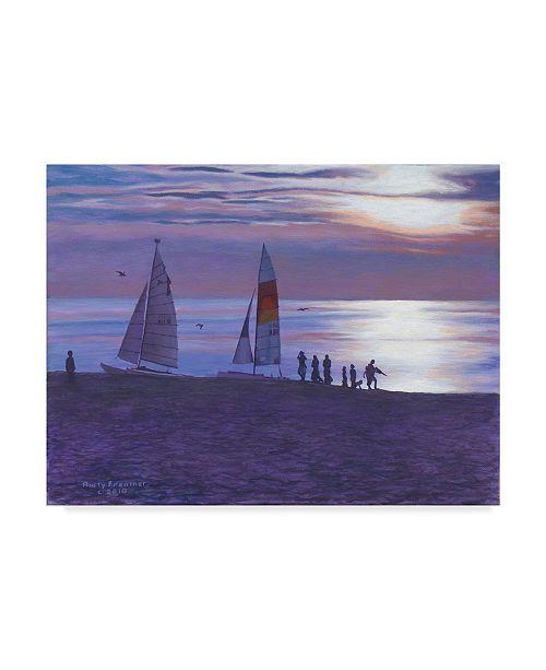 "Trademark Global Rusty Frentner 'Weco Beach' Canvas Art - 14"" x 19"""