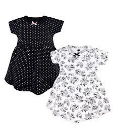 Hudson Baby Cotton Dress, 2 Pack, 2T-5T