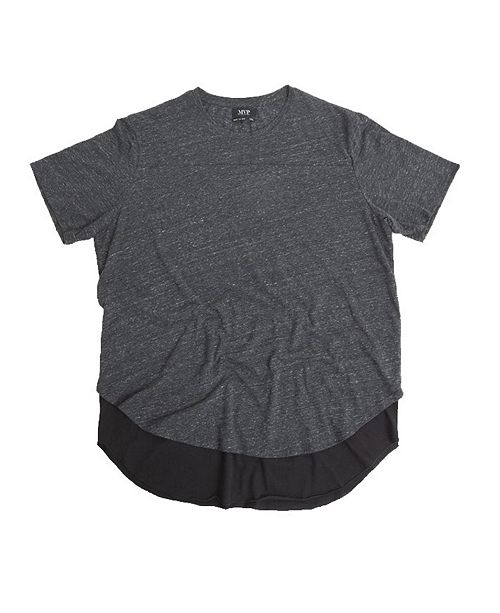 Mvp Collections By Mo Vaughn Productions MVP Collections Big and Tall Curved Layered Tee