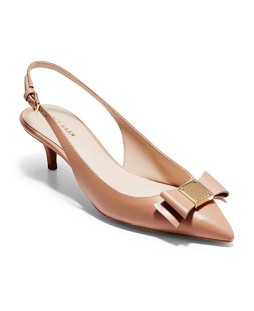 Cole Haan Tali Bow Slingback Pumps