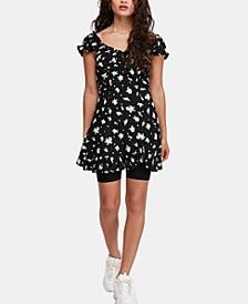 Like A Lady Printed Mini Dress