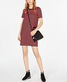 Striped T-Shirt Dress, in Regular & Petite Sizes