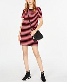 Michael Michael Kors Striped T-Shirt Dress, in Regular & Petite Sizes